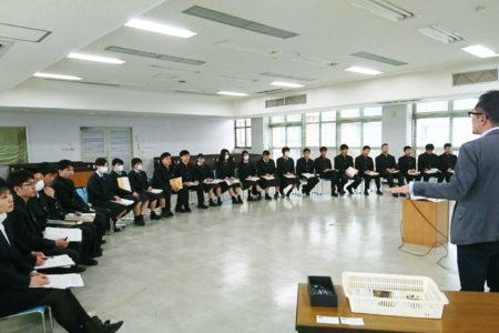 県立門川高校から高校生が企業見学に来てくれました!