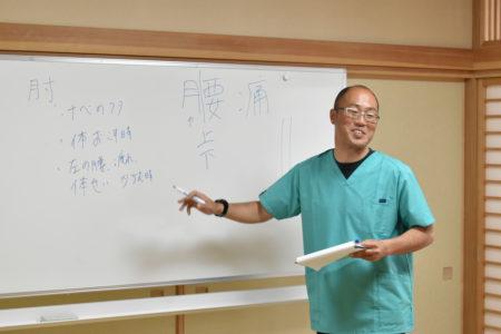 腰痛専門整体師「東先生のカラダケア教室」を開催しました!